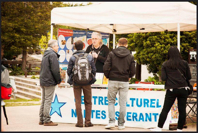 Fête de l'Europe - stand CCNE