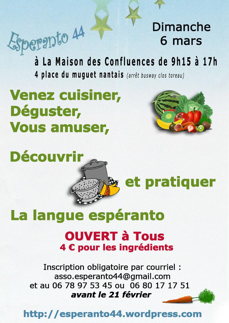 Stage esp ranto 44 mars 2016 centre culturel nantes for Stage cuisine nantes