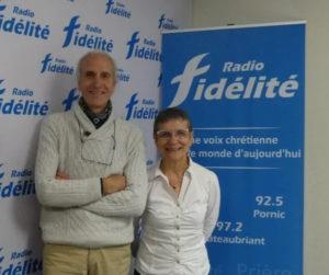 Bruno et Maryvonne Robineau à Radio Fidélité
